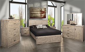 Bedrooms Driftwood